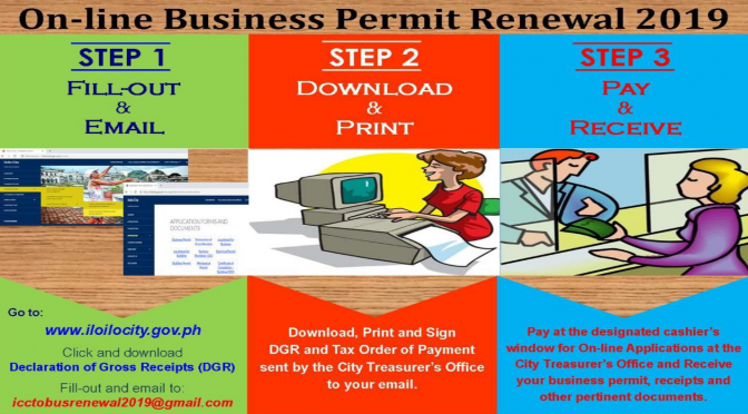 Online Business Permit Renewal 2019