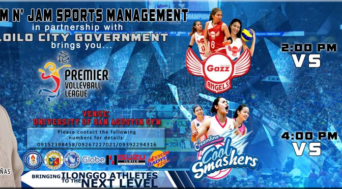 SLAM N' JAM SPORTS MANAGEMENT PVL TOUR