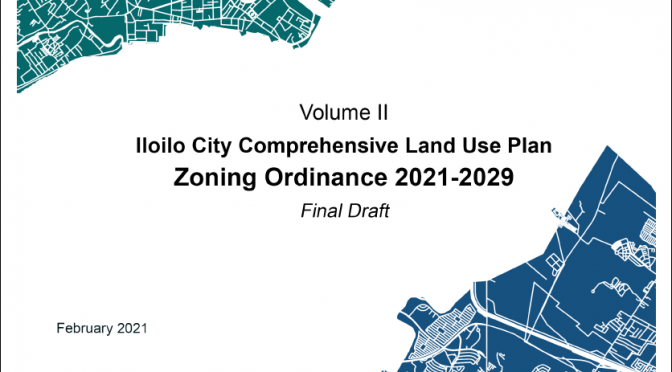 Iloilo City Comprehensive Land Use Plan Zoning Ordinance 2019-2029